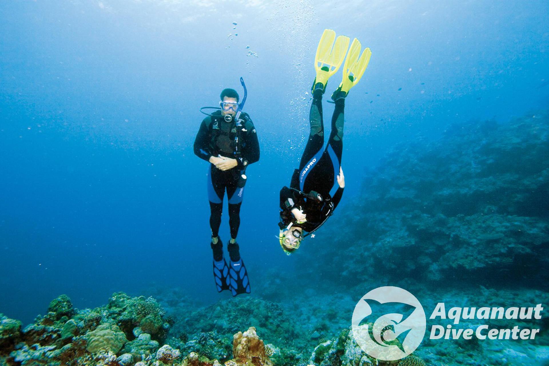 PADI Advanced Open Water Diver course - Peak Performance Buoyancy