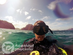PADI Advanced Open Water Diver course. Enjoying the course.