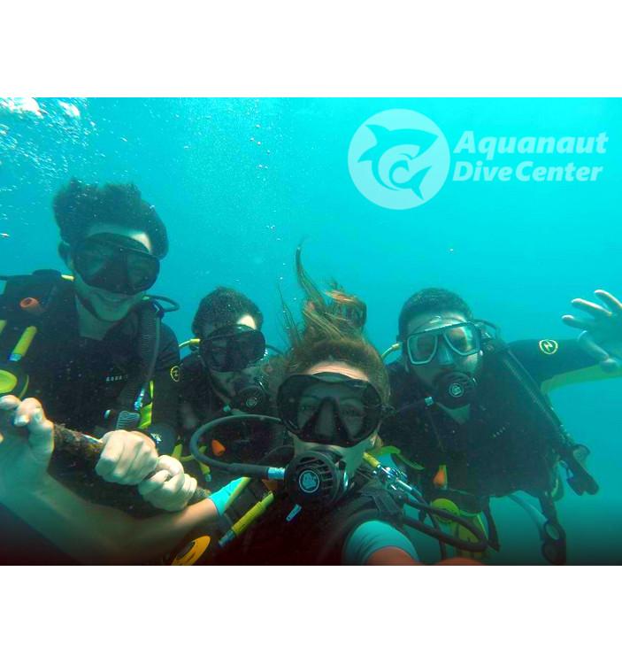PADI Open Water Diver Course Guille Oscar Miguel en El Nido, Filipinas