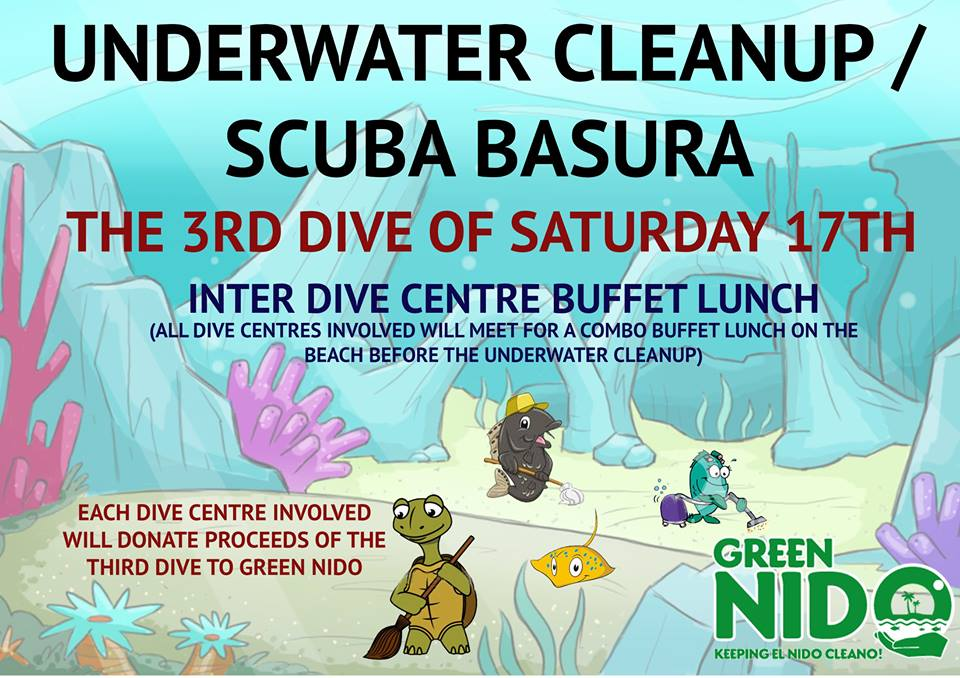 GreenNido Scuba Diving Underwater CleanUp