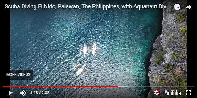 Scuba Diving El Nido Video Drone