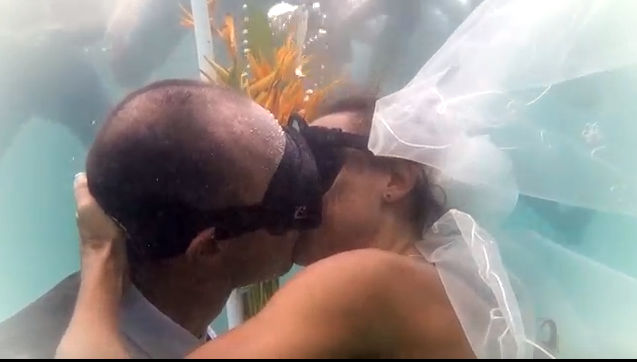 Underwater Wedding El Nido